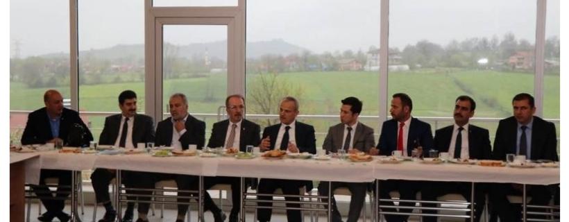 BARTIN OSB DE KAMU-ÜNİVERSİTE-SANAYİ BULUŞMASI